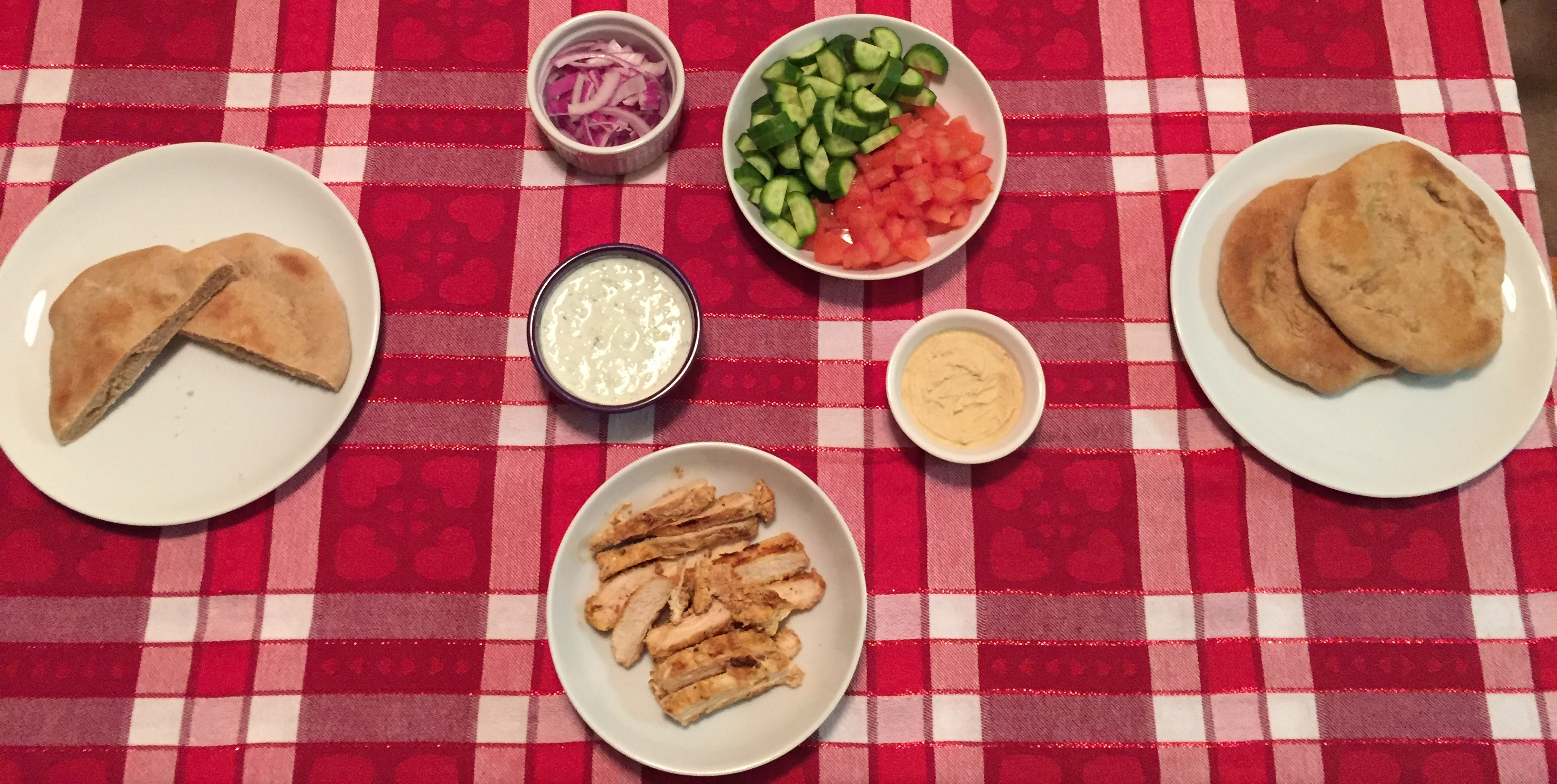 Week 29 – Basic Hummus, Whole Wheat Pita Bread, and Grilled Chicken ...